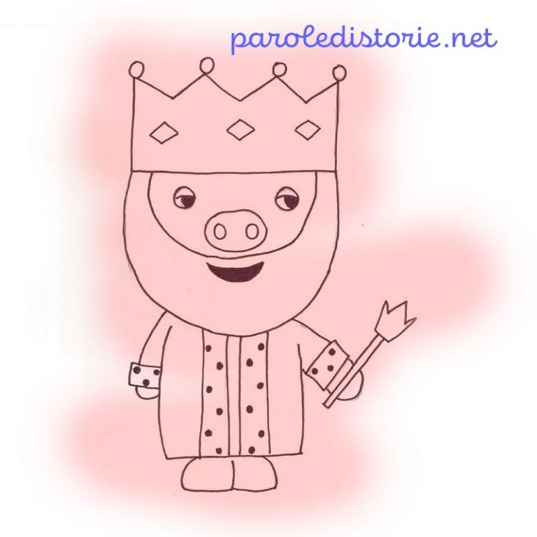 Il Re Porcaro. Una fiaba di Guido Gozzano. Messa in voce di Cristiana Cocco